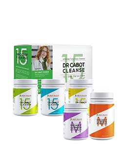 Cabot Health 15 Day Cleanse + Maintenance Superfood & Gut Health Bundle