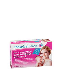 Conceiveplease Preconception & Pregnancy For Women Vitamins