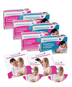 Conceiveplease 3 Month Couples Preconception Pack