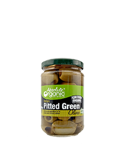 Absolute Organic Pitted Green Olive Bella di Cerignola 280g