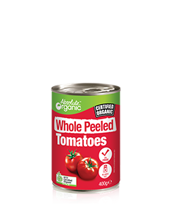 Absolute Organic Whole Peeled Tomato 400g