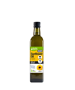 Absolute Organic Sunflower Oil 500ml