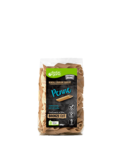 Absolute Organic Whole Durum Wheat Penne 500g