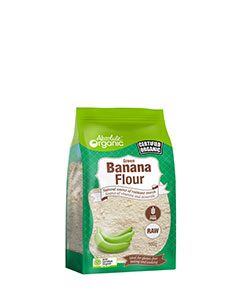Absolute Organic Green Banana Flour 500g