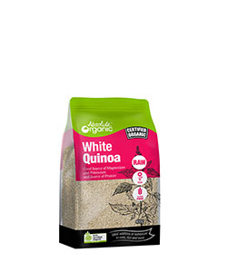 Absolute Organic White Quinoa 400g