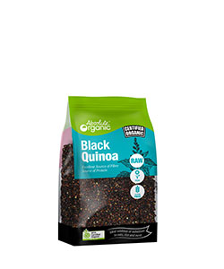 Absolute Organic Black Quinoa 400g