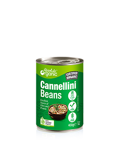Absolute Organic Cannellini Beans 400g
