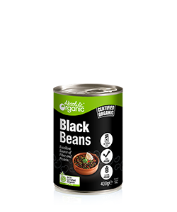 Absolute Organic Black Beans 400g