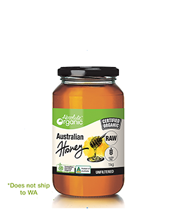 Absolute Organic Australian Honey Raw 1kg