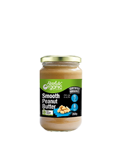 Absolute Organic Smooth Peanut Butter 350g