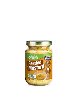 Absolute Organic Seeded Mustard 200g