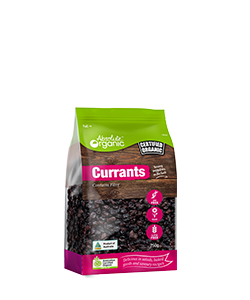 Absolute Organic Dried Currants  250g