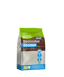 Absolute Organic Desiccated Coconut 200g