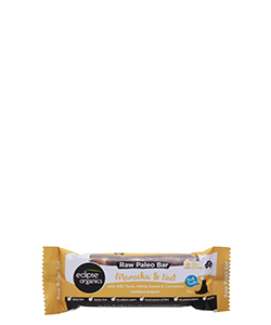 Eclipse Organics Raw Paleo Bar Manuka & Nut 50g