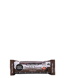 Eclipse Organics Raw Paleo Bar Chocolate Brownie 50g