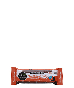 Eclipse Organics Raw Paleo Bar Choc Orange Fudge 50g
