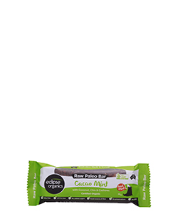 Eclipse Organics Raw Paleo Bar Cacao Mint 50g