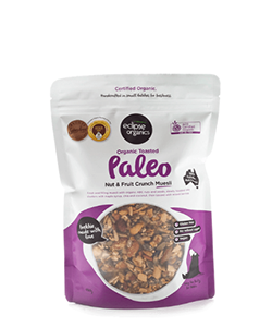 Eclipse Organics Toasted Muesli Paleo Nut & Fruit Crunch 450g