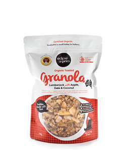 Eclipse Organics Granola Lumberjack with Apple Date & Coconut 450g