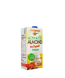 Organic Activated Almond Milk 1L Pure Harvest
