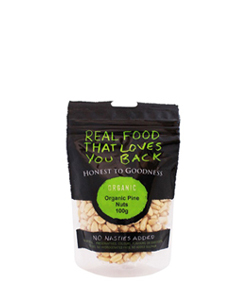 Organic Pine Nuts 100g Honest to Goodness