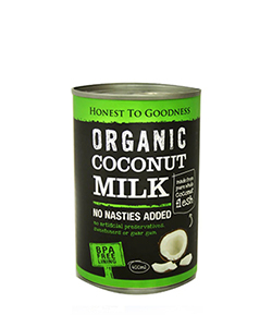 Honest to Goodness Organic Coconut Milk 400ml