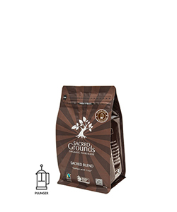 Organic Sacred Blend Plunger Coffee 250g Honest to Goodness