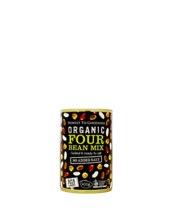 Organic Four Bean Mix 400g Honest to Goodness