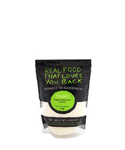 Organic Coconut Desiccated Fine 175g Honest to Goodness