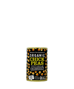 Organic Chickpeas 400g Honest to Goodness
