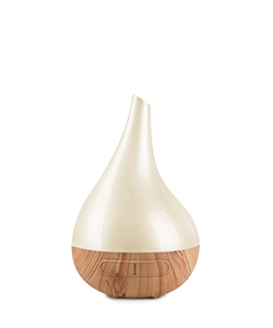 Lively Living Aroma Bloom Cream Pearl with Wood Look