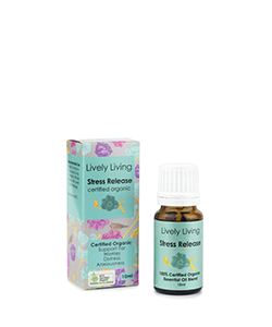 Lively Living Organic Essential Oil Stress Release 10ml