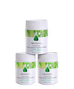 Miessence DeepGreen Alkalising Superfood Value Pack