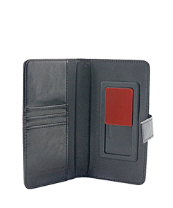 Mobile Safety Universal Wallet Case Medium Black Vest Anti-Radiation