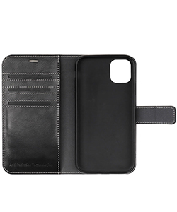 Mobile Safety iPhone 11 Pro Max Black Vest Anti-Radiation Wallet Case