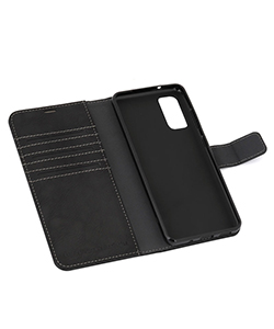 Mobile Safety Samsung S20 Black Vest Anti-Radiation Wallet Case