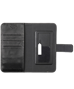 Mobile Safety Universal Black Large Vest Anti-Radiation Wallet Case