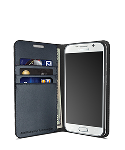 Mobile Safety Samsung Galaxy S7 Vest Anti-Radiation Wallet Case