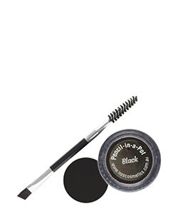 NAS Cosmetics Black Pencil-in-a-Pot Brow and Eyeliner