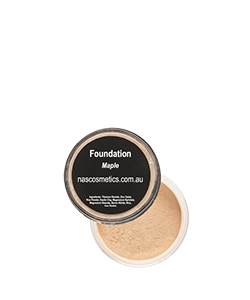 NAS Cosmetics Maple Mineral Foundation