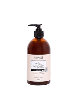 Probiotic Solutions Well Washed Body Wash Mandarin - Cedarwood 500ml