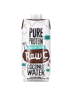 Raw C Pure Protein Coconut Water 330ml