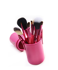 Smitten Cosmetics Cannister Brush Sets Pink