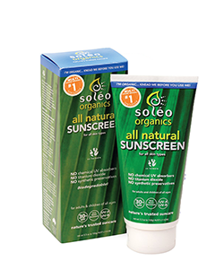 Soleo Organics Natural Sunscreen 150g