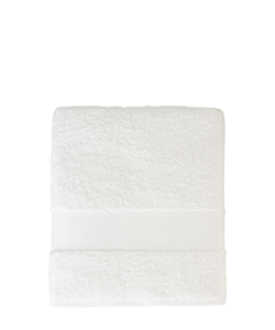 Sunsand Organic White Cotton Bath Sheet