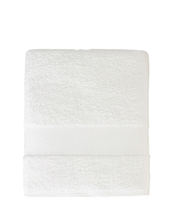 Sunsand Organic White Cotton Bath Towel
