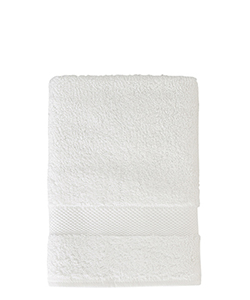 Sunsand Organic White Cotton Hand Towel