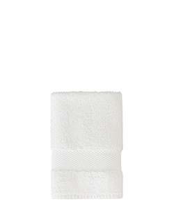 Sunsand Organic White Cotton Face Washer