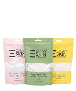 The Clean Skin 3 Pack Superfood Clay Masks