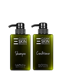 The Clean Skin The Haircare Pack